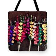 Corn Husk Flowers Tote Bag