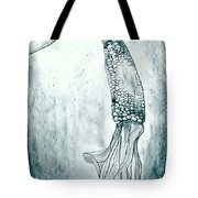 Corn In Space Tote Bag