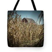 Corn Maze Tote Bag