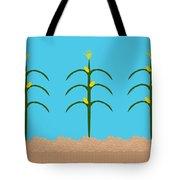 Corn Rows Tote Bag