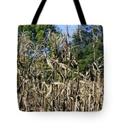 Corn Stalks Drying Tote Bag