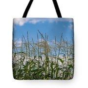 Corn Tassels In The Sky Tote Bag