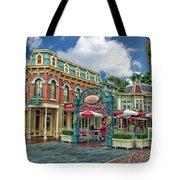 Corner Cafe Main Street Disneyland 01 Tote Bag