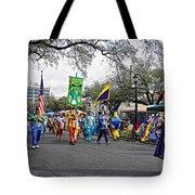 Corner Club 4 - Mardi Gras New Orleans Tote Bag