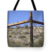 Corner Crossing Tote Bag