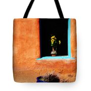 Corner In Santa Fe Nm Tote Bag