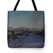 Corner Of 157th St. And 168th Ave. Tote Bag