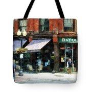 Corner Of Columbia And Pearl Albany Ny Tote Bag
