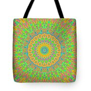 Corner Of Love And Haight Tote Bag