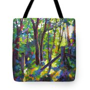 Corner Post Tote Bag by Mary McInnis