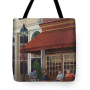 Corner Restaurant Tote Bag