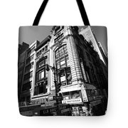 Corner Store In The City Tote Bag