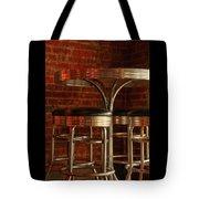 Corner Table - Color Tote Bag