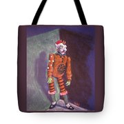 Cornered Marionette Strings Not Included Tote Bag
