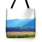 Cornfield On Bright Autumn Day 3 Tote Bag