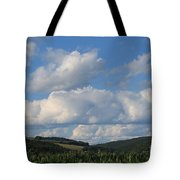 Cornfield With A View Tote Bag