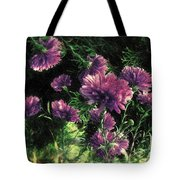 Cornflowers Autumngraphy - Photopainting Light Tote Bag