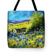 Cornflowers In Ver Tote Bag