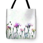 Cornflowers Watercolor  Tote Bag