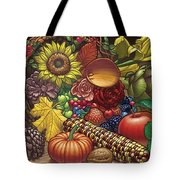 Cornucopia Overflowing Tote Bag
