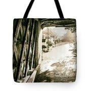 Cornwall Bridge Tote Bag