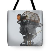 Cornwall Man Engine Tote Bag