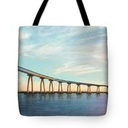 Coronado Bridge Sunset A Tote Bag