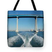 Coronado Bridge Wake Tote Bag