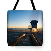 Coronado Lifeguard Station Tote Bag