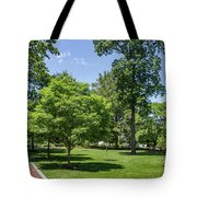 Corr Hall Green Space Tote Bag