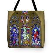Corr Hall Stain Glass Tote Bag