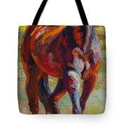 Corral Boss - Mustang Tote Bag