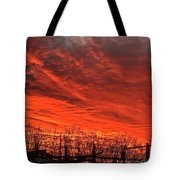 Corral Sunset Tote Bag