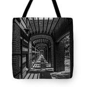 Corridor Of Brick And Stone Tote Bag