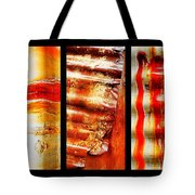 Corrugated Iron Triptych #4 Tote Bag