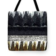 Corrugated Metal Abstract 9 Tote Bag