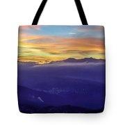 Corsican Sunset Tote Bag