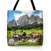 Cortina D'ampezzo, Italy Tote Bag