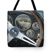 Corvette Dash Tote Bag