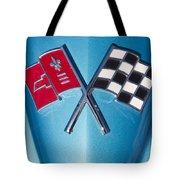 Corvette Emblem Classic Tote Bag