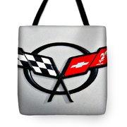Corvette Flags II Tote Bag