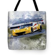 Corvette Racing Tote Bag