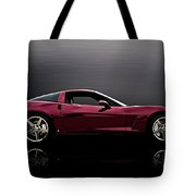 Corvette Reflections Tote Bag