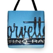 Corvette Sting Ray Tote Bag