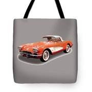 Corvette Tshirt Tote Bag
