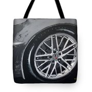 Corvette Wheel Tote Bag