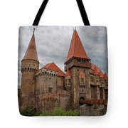 Corvin's Castle Tote Bag by Yair Karelic