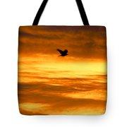 Corvus Silhouette  Tote Bag