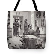 Cosimo Medici Sitting In His Home In Florence Tote Bag