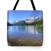 Cosley Lake Outlet - Glacier National Park Tote Bag